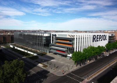 Sede corporativa de REPSOL (Madrid)
