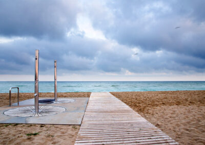 Playas de la costa Española