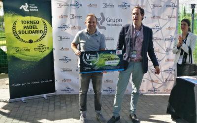 Grupo Presto Ibérica colabora en la lucha contra el cáncer durante su V Torneo de Pádel Solidario