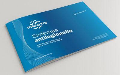Productos PRESTO para prevenir la legionelosis en instalaciones ACS.